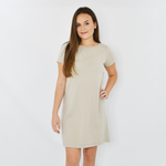 Womens Michael Stars Hannah Tee Dress in Castle - Brother's on the Boulevard