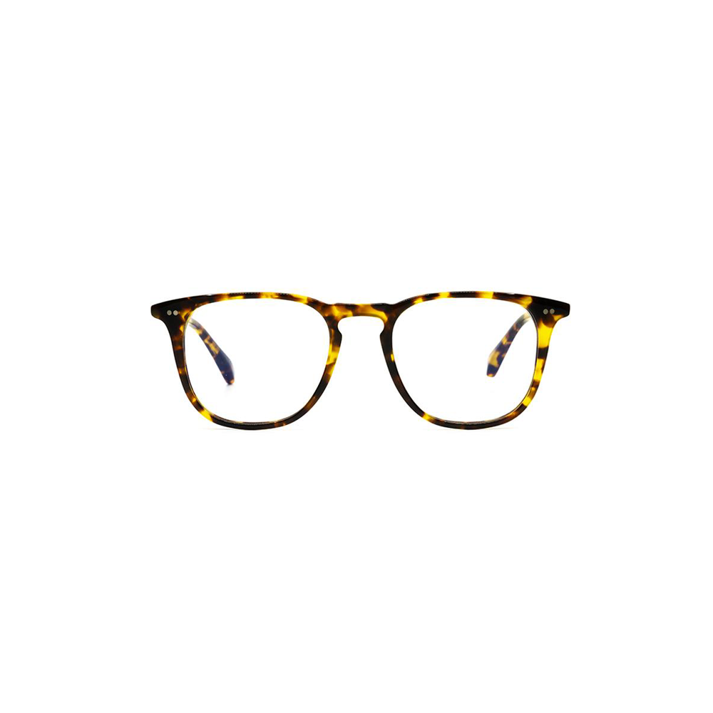 Womens DIFF Eyewear Justin Baldoni Maxwell Blue Light Clear Glasses in Amber Tortoise/Blue Light - Brother's on the Boulevard