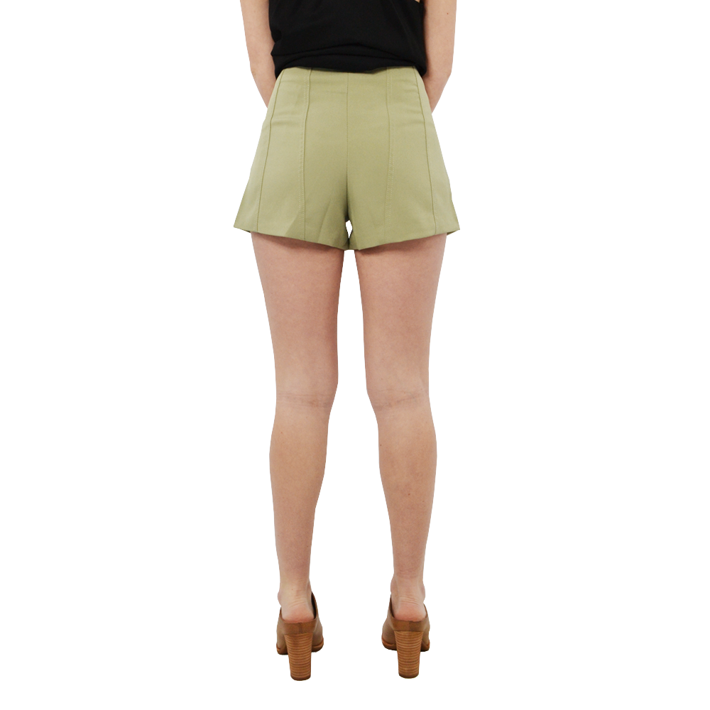 Womens NYLA Dianna Shorts in Olive - Brother's on the Boulevard