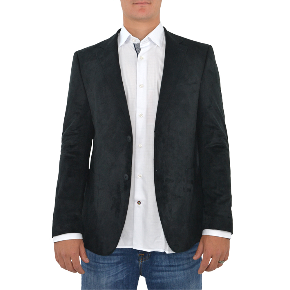 Luchiano Visconti 151 Sport Coat in Black