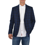Luchiano Visconti 153 Sport Coat in Blue