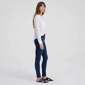 Womens AG Jeans The Farrah Skinny High Rise Skinny Ankle in Revolution - Brother's on the Boulevard