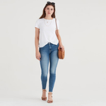 7 For All Mankind High-Waist Ankle Skinny in Muse