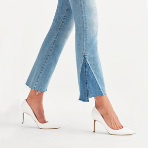 Womens 7 For All Mankind High Waisted Slim Kick Flare Jean in Vintage Mercer - Brother's on the Boulevard