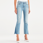 7 For All Mankind High Waisted Slim Kick Flare Jean in Vintage Mercer