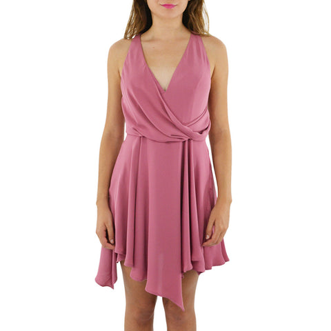 Stylestalker Alia A-Line Dress in Rose