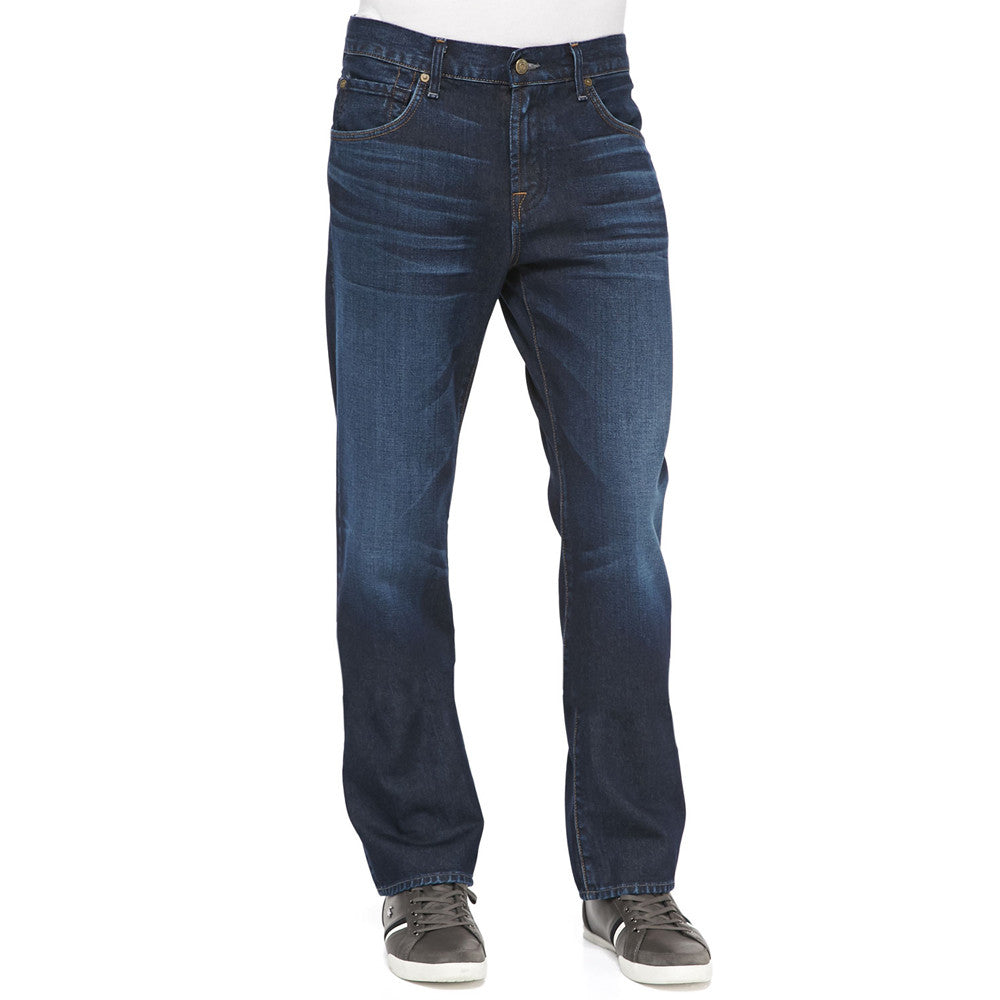 7 for all Mankind Austyn Relaxed Straight in Blue Horizon