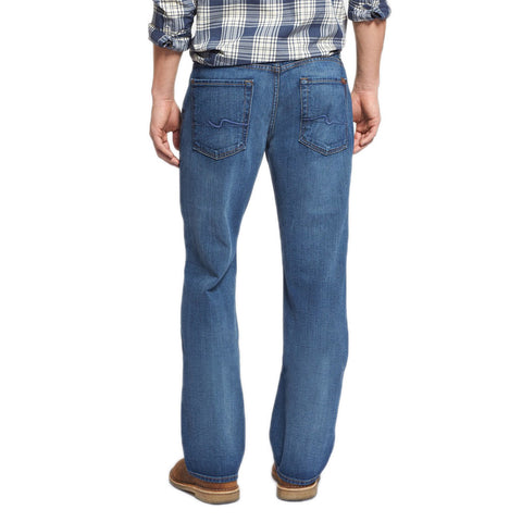 7 for all Mankind Austyn Relaxed Straight Leg in Heritage Blue
