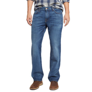 Mens 7 for all Mankind Austyn Relaxed Straight Leg in Heritage Blue - Brother's on the Boulevard