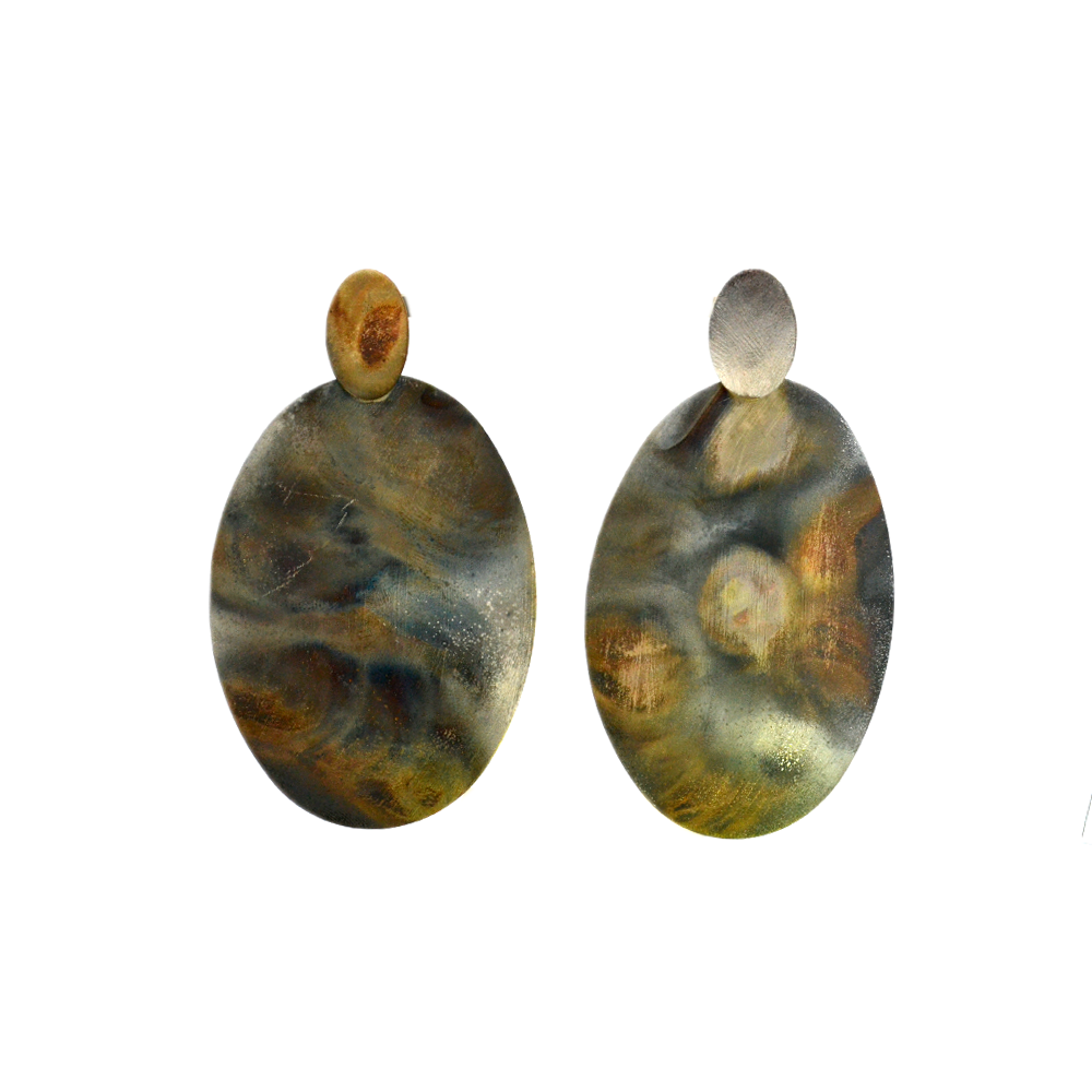 Womens Sheila Fajl Nicolas Earring in Burnished Silver - Brother's on the Boulevard