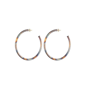 Womens Sheila Fajl Small Everybody's Favorite Hoop Earring in Burnished Gold - Brother's on the Boulevard