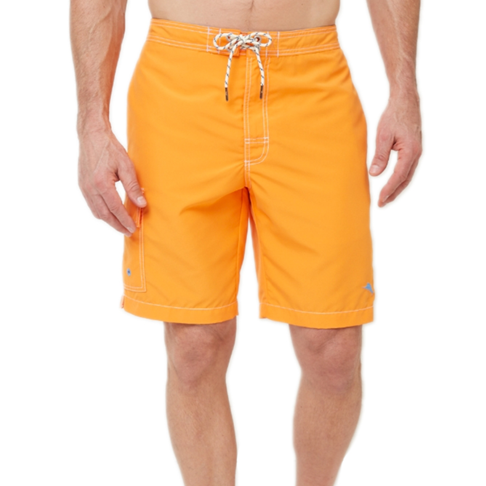Mens Tommy Bahama Baja Poolside 9-inch Swim Trunks in Alert - Brother's on the Boulevard