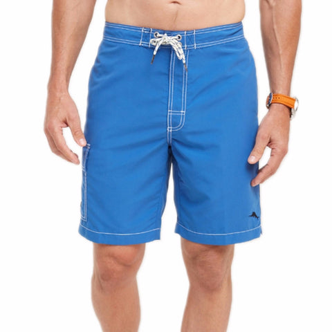 Tommy Bahama Baja Poolside 9-inch Swim Trunks in Bright Cobalt