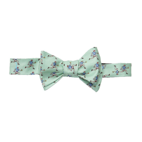 Mens Southern Proper Beer Run Bow Tie in Green - Brother's on the Boulevard