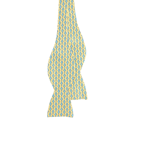 Vineyard Vines Bonefish Bow Tie in Yellow