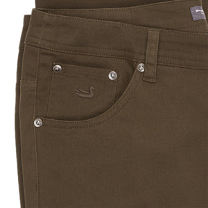 Mens Southern Marsh Brazos Stretch Twill Pant in Dark Brown - Brother's on the Boulevard