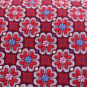 Mens Brother's On The Boulevard Handmade Necktie in Red - Brother's on the Boulevard