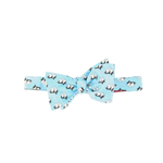 Southern Proper Cotton Boll Bowtie in Light Blue