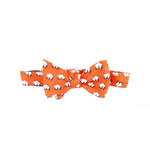 Southern Proper Cotton Boll Bowtie in Orange