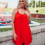 Rouge Bonita Game Day Dress in Red