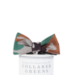 Collared Greens Camo Bow Tie in Multi