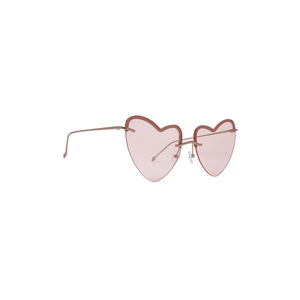Womens DIFF Eyewear Remy Sunglasses in Champagne Gold/Transparent Pink - Brother's on the Boulevard