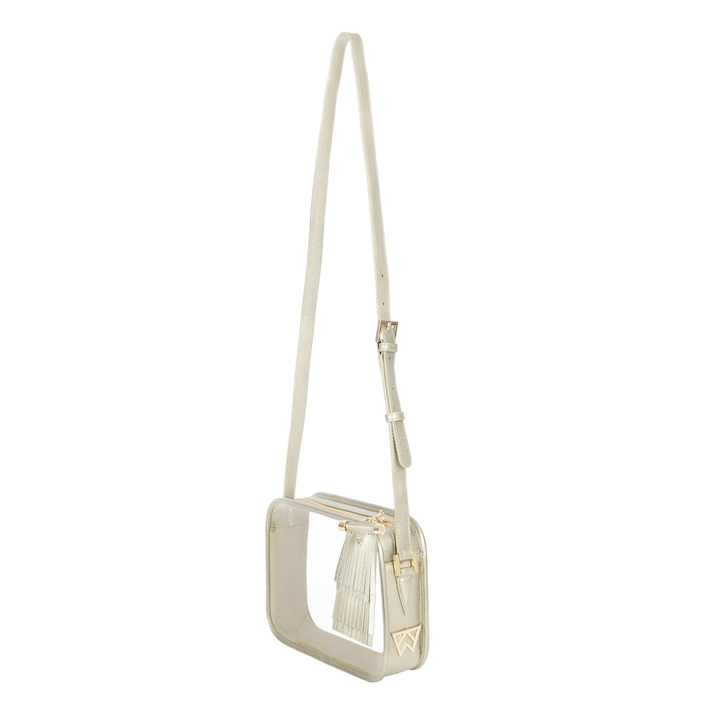 Womens Kelly Wynne Mingle Mingle Mama Crossbody in Moon - Brother's on the Boulevard