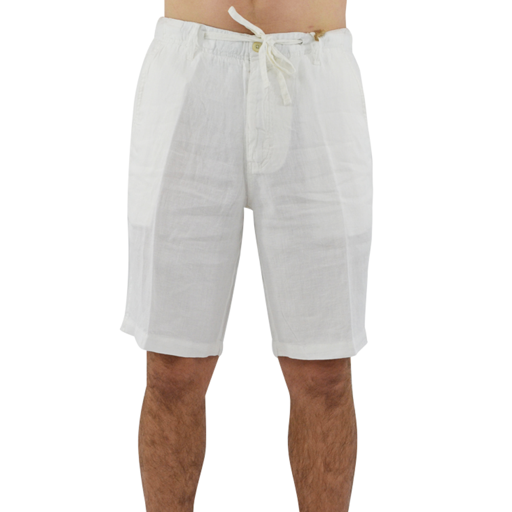 Margaritaville Cabana Linen Short in Cream