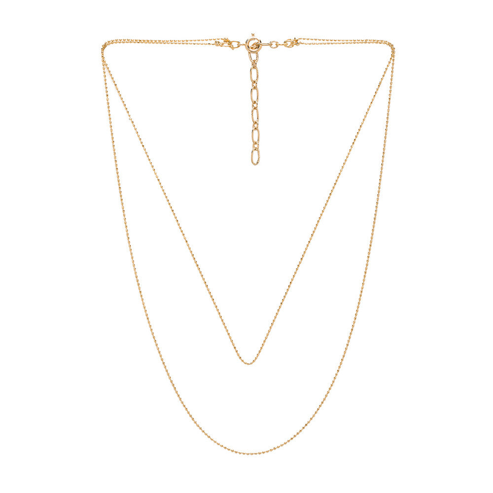 Womens Five and Two Camille Necklace in Gold - Brother's on the Boulevard