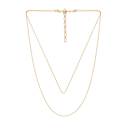 Five and Two Camille Necklace in Gold