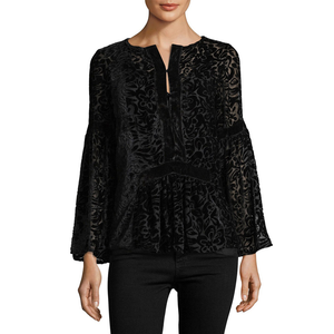 Womens Rouge Camilla Top in Black - Brother's on the Boulevard