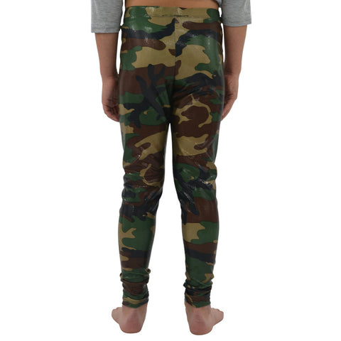 Weekend Vibes Stretchy Leggings in Camouflage