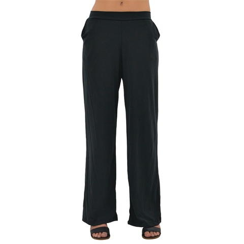 PPLA Cannon Knit Pant in Black