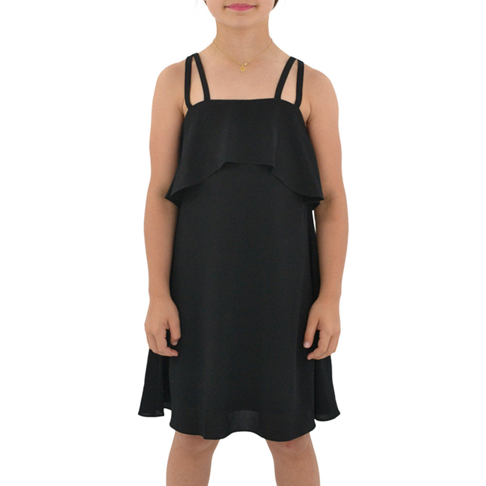 Sally Miller Girls Cara Dress in Black