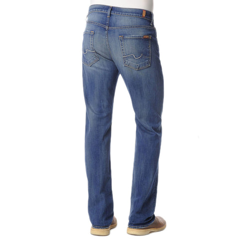 7 for all Mankind Luxe Performance Carsen Modern Straight Leg in Pale Ale