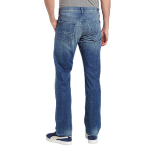 Mens 7 For All Mankind Carsen Modern Straight Jean in Washed Out - Brother's on the Boulevard