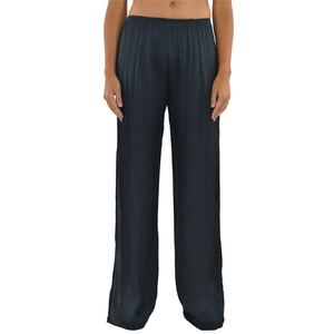 Womens NYLA Side Slit Pant in Charcoal - Brother's on the Boulevard