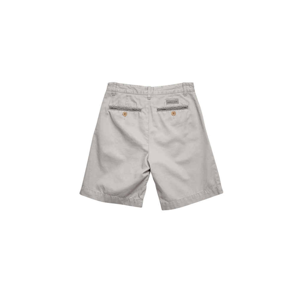 Boys Southern Marsh Youth Charleston Seawash Short in Washed Grey - Brother's on the Boulevard
