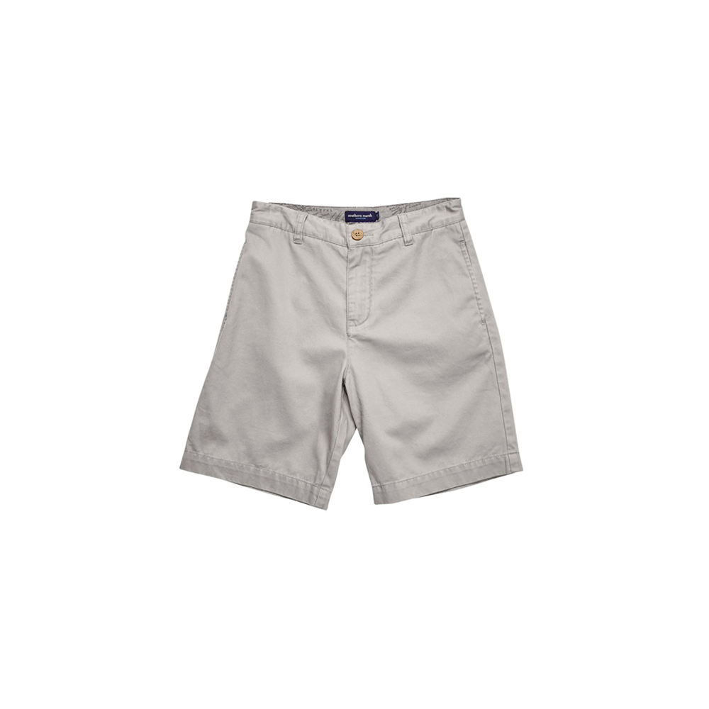 Southern Marsh Youth Charleston Seawash Short in Washed Grey
