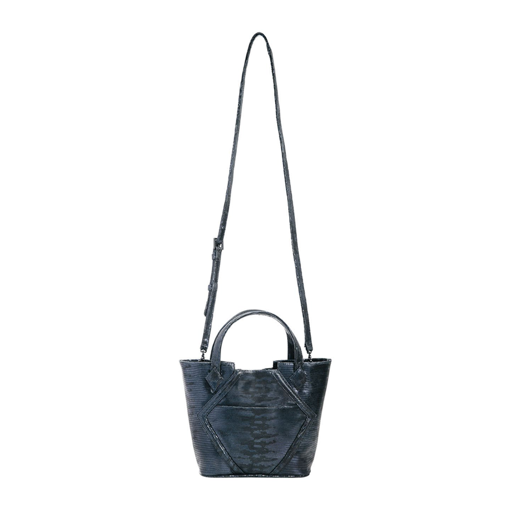 Womens Kelly Wynne Cheers to Me Mini Handbag in Navy Eclipse - Brother's on the Boulevard