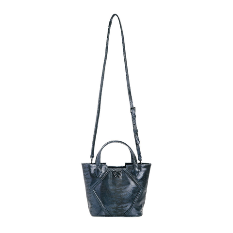 Kelly Wynne Cheers to Me Mini Handbag in Navy Eclipse