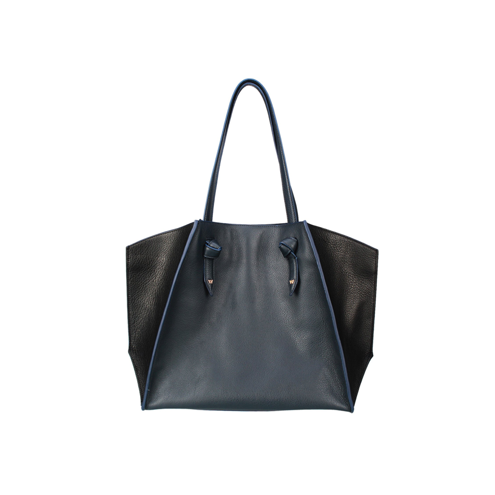 Womens Kelly Wynne Clarksville Carryall in Navy and Black - Brother's on the Boulevard