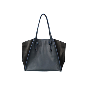 Womens Kelly Wynne Clarksville Carryall Tote in Navy and Black - Brother's on the Boulevard