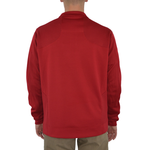 Mens Cutter & Buck UL Ragin Cajuns DryTec Edge Half Zip Pullover in Red - Brother's on the Boulevard