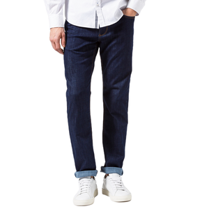 Mens Brax Cooper Masterpiece Regular Straight Jean in Blue Black - Brother's on the Boulevard