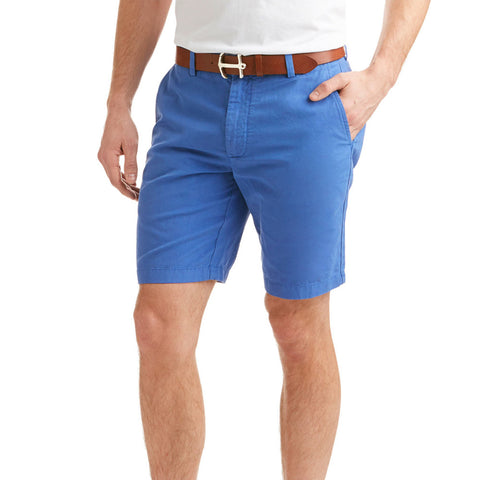 Vineyard Vines 9 Inch Cotton/Linen Shorts in Blue Bell