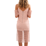 Womens Keepsake The Label Countdown Lace Dress in Blush - Brother's on the Boulevard