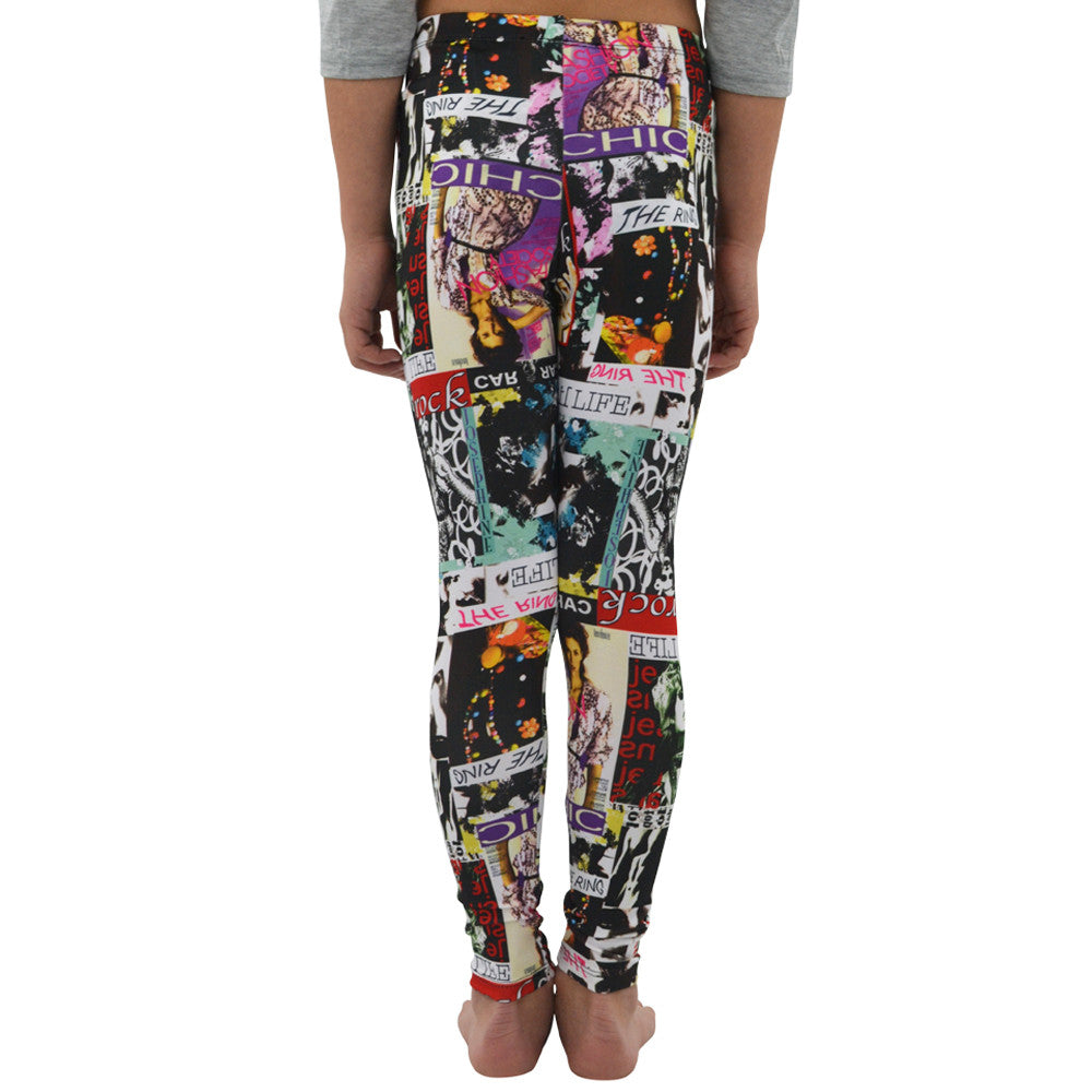 Tween Girls Weekend Vibes Girls Cover Girl Leggings in Multi - Brother's on the Boulevard