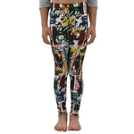 Weekend Vibes Girls Cover Girl Leggings in Multi