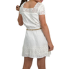 Tween Girls Girls Ella Moss Crochet Dress with Faux Leather Belt in White - Brother's on the Boulevard